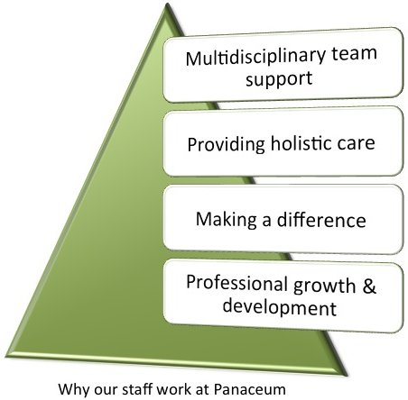 Why our staff work at Panaceum